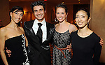 From left: Stefania Figliossi, Antonio Carmena, Kathryn Walsh Thomas and Hana Sakai at the Dominic Walsh Dance Theater's 10th Anniversary Season Gala at the Four Seasons Hotel Friday May 4,2012. (Dave Rossman Photo)
