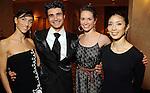 From left: Stefania Figliossi, Antonio Carmena, Kathryn Walsh Thomas and Hana Sakai at the Dominic Walsh Dance Theater's 10th Anniversary Season Gala at the Four Seasons Hotel Friday May 4,2012. (Dave Rossman Photo)