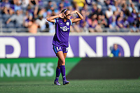 Orlando, FL - Saturday Sept. 24, 2016: Dani Weatherholt during a regular season National Women's Soccer League (NWSL) match between the Orlando Pride and FC Kansas City at Camping World Stadium.