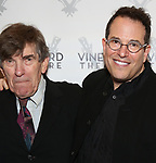 Michael Mayer with his dad attends the Vineyard Theatre Gala 2018 honoring Michael Mayer at the Edison Ballroom on May 14, 2018 in New York City.