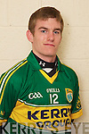 Matthew Galvin member of the Kerry U-21 panel 2012