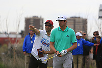 Nacho Elvira (ESP) on the 2nd tee during Round 4 of the Open de Espana 2018 at Centro Nacional de Golf on Sunday 15th April 2018.<br /> Picture:  Thos Caffrey / www.golffile.ie<br /> <br /> All photo usage must carry mandatory copyright credit (&copy; Golffile   Thos Caffrey)