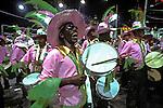Desfile de carnaval da Mangueira, Rio de Janeiro. 1979. Foto de Juca Martins.