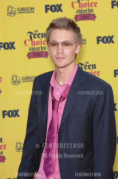 CHAD MICHAEL MURRAY at the 2005 Teen Choice Awards at the Universal Amphiteatre, Hollywood..August 14, 2005  Los Angeles, CA.© 2005 Paul Smith / Featureflash