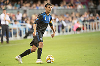 SAN JOSE,  - SEPTEMBER 1: Cristian Espinoza #10 of the San Jose Earthquakes during a game between Orlando City SC and San Jose Earthquakes at Avaya Stadium on September 1, 2019 in San Jose, .
