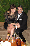 **EXCLUSIVE**.Eli Roth and girl..Vanity Fair Oscar Party..Sunset Tower Hotel..Hollywood, CA, USA..Sunday, March 07, 2010..Photo ByCelebrityRadar.com.To license this image please call (212) 410 5354; or Email:CelebrityRadar10@gmail.com ;.website: www.CelebrityRadar.com.
