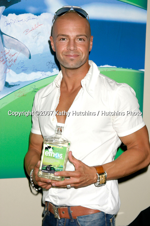 Joey Lawrence.GBK Emmy Gifting Suite.Hollywood Roosevelt Hotel.Los Angeles,  CA.September 14, 2007.©2007 Kathy Hutchins / Hutchins Photo...