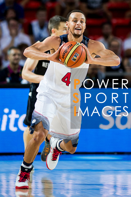 Stephen Curry of United States of America during FIBA Basketball World Cup 2014 group C between United States of America vs New Zeland  on September 02, 2014 at the Bilbao Arena stadium in Bilbao, Spain. Photo by Nacho Cubero / Power Sport Images