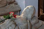 Church of Saint Mary, Chilton, Suffolk, England, UK - George Crane died 1491 monument memorial