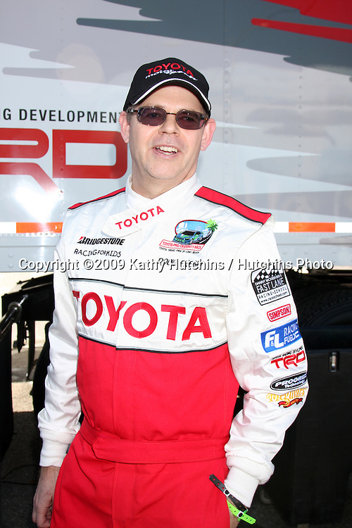 Doug Fregin, Blackberry guy,   at  the 33rd Annual Toyota Pro/Celeb Race Press Day at the Grand Prix track in Long Beach, CA on April 7, 2009.©2009 Kathy Hutchins / Hutchins Photo....                .
