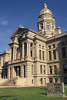 State Capitol, Cheyenne, WY, State House, Wyoming, The Wyoming State Capitol Building in the capital city of Cheyenne.