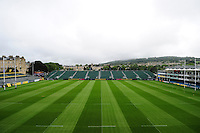 A general view of the Recreation Ground pitch. Aviva Premiership match, between Bath Rugby and Newcastle Falcons on September 10, 2016 at the Recreation Ground in Bath, England. Photo by: Patrick Khachfe / Onside Images
