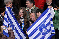 Real Sociedad's supporters during La Liga match.January 19,2013. (ALTERPHOTOS/Acero) /NortePhoto