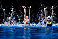 180518 Synchronised Swimming - 2018 North Island Championships Practice Day