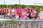 Taoiseach Enda Kenny and all the ladies who participated in the Pink race at the Killarney Regatta on Sunday   ..