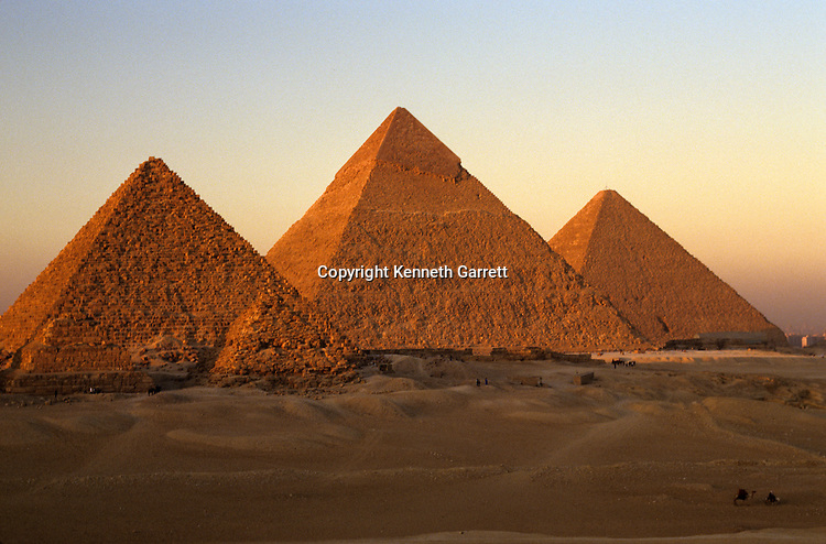 Egypt's Old Kingdom; Pyramids; Giza Plateau; Giza; Egypt