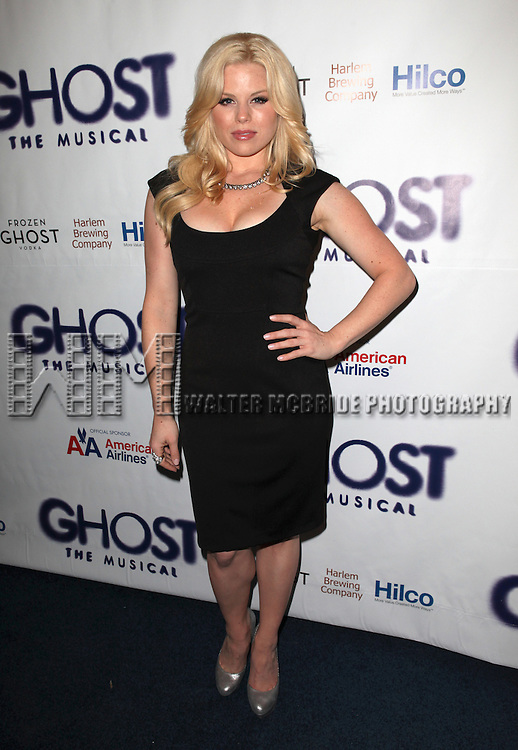 Megan Hilty.attending the Broadway Opening Night Performance of 'GHOST' a the Lunt-Fontanne Theater on 4/23/2012 in New York City. © Walter McBride/WM Photography .