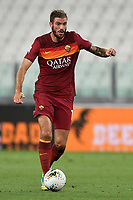 Davide Santon of AS Roma during the Serie A football match between Juventus FC and AS Roma at Juventus stadium in Turin (Italy), August 1st, 2020. Play resumes behind closed doors following the outbreak of the coronavirus disease. Photo Andrea Staccioli / Insidefoto