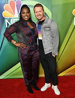 08 August 2019 - Beverly Hills, California - Ester Dean, Shane McAnally. 2019 NBC Summer Press Tour held at Beverly Hilton Hotel. <br /> CAP/ADM/BT<br /> ©BT/ADM/Capital Pictures