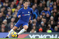 Eden Hazard of Chelsea during Chelsea vs Leicester City, Premier League Football at Stamford Bridge on 13th January 2018