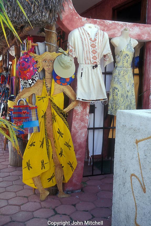 Clothing boutique in Puerto Morelos, Quintana Roo, Mexico