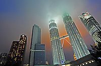 The Petronas Towers in Kuala Lumpur, Malaysia. <br /> 31-Oct-11<br /> <br /> <br /> <br /> <br /> <br /> <br /> <br /> <br /> <br /> <br /> <br /> <br /> <br /> The Petronas Towers and other skyscapers in the Central Business District at Kuala Lumpur, Malaysia,<br /> 02-Nov-11