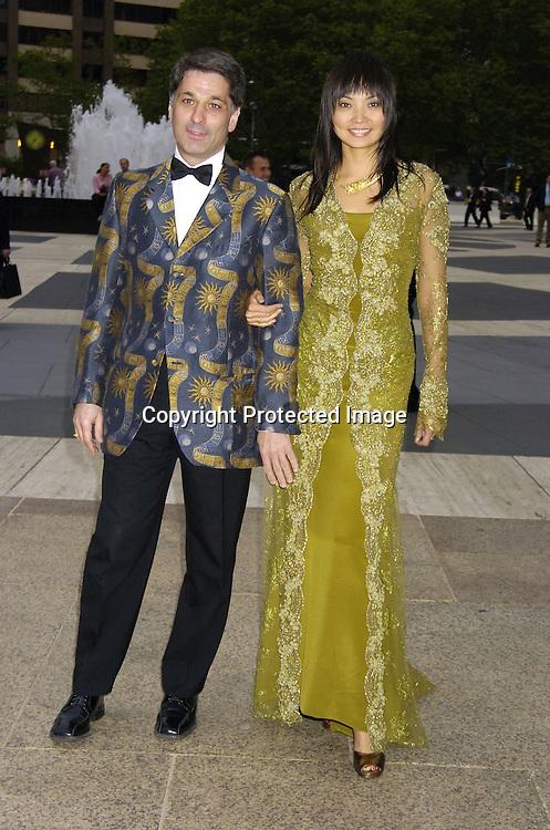 Irina Pantaeva and husband Roland Levin