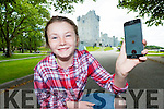 Danielle Moriarty on the search for Pokemon in Ross Castle on Wednesday