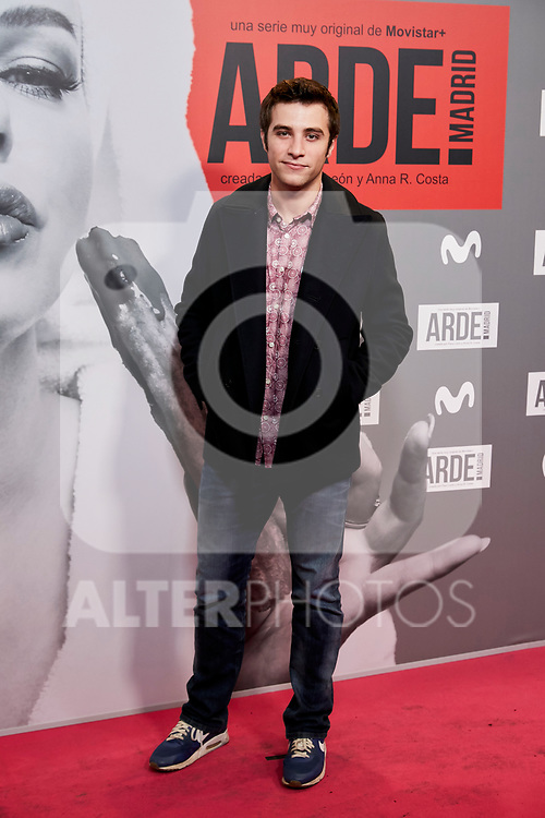 Pol Monen attends to ARDE Madrid premiere at Callao City Lights cinema in Madrid, Spain. November 07, 2018. (ALTERPHOTOS/A. Perez Meca)