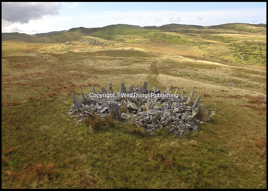 BNPS.co.uk (01202 558833)<br /> Pic: WildThings/BNPS<br /> <br /> Bryn Cader Faner north Wales.<br /> <br /> Walk back in Time - new travel book reveals Britain's ancient places.<br /> <br /> An explorer has travelled the length and breadth of Britain to document over 400 mysterious little known ancient sites.<br /> <br /> Dave Hamilton ventured off the beaten track to uncover wild ruins which have stood for between 2,000 and 10,000 years.<br /> <br /> He avoided famous sites like Stonehenge, instead focusing on little-known lost ruins scattered across the country.<br /> <br /> His travels saw him encounter sacred tombs and caves, stone circles, Bronze Age brochs and Iron Age hillforts.