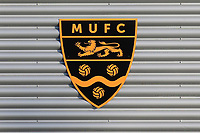 General view of the Club Badge during Maidstone United vs Wrexham, Vanarama National League Football at the Gallagher Stadium on 17th November 2018