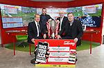 Ladbrokes SPFL ambassadors Murdo MacLeod, Kris Boyd, Willie Miller and Pat Bonner together in Linwood today