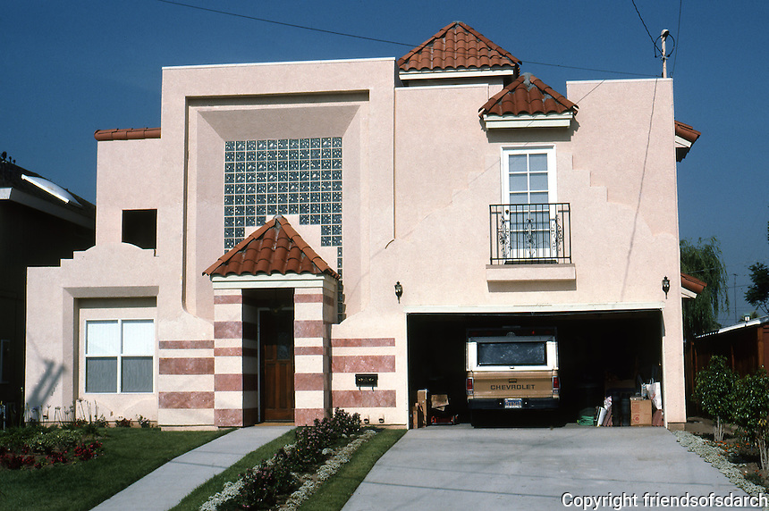 San Diego: 3363 Mountain View Drive. Normal Heights , 1987. (Photo '87)