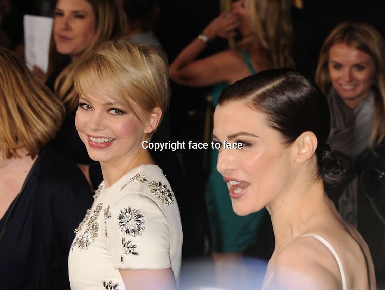 """HOLLYWOOD, CA - FEBRUARY 13: Michelle Williams and Rachel Weisz attend the world premiere of Disney's """"OZ The Great And Powerful"""" at the El Capitan Theatre on February 13, 2013 in Hollywood, California...Credit: Mayer/face to face..- No Rights for USA, Canada and France -"""