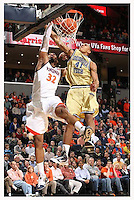 2010 Virginia Georgia tech Basketball