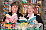 Book worms: Winnie Carrig and Eileen Farrelly of the Tarbert Bridewell where a book swap is in operation to raise funds for the Listowel Hospice Branch.