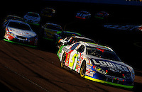 Nov 12, 2005; Phoenix, Ariz, USA; Nascar Busch Series driver Kyle Busch (5) during the Arizona 200 at Phoenix International Raceway. Mandatory Credit: Photo By Mark J. Rebilas