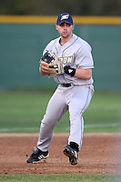 March 13, 2010:  Infielder Jason Corzine of the Akron Zips vs. the Yale Bulldogs in a game at Henley Field in Lakeland, FL.  Photo By Mike Janes/Four Seam Images