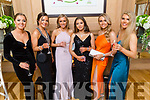 Students from Brookfield College enjoying the evening in Ballygarry House Hotel on Saturday<br /> L to r: Maud Kelly, Ruth Cahill, Olivia Nix, Laura Barrett, Caroline Courtney and Méabh McElligott.
