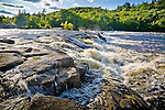 Nesowadnehunk Falls on the West Branch of the Penobscot River, Piscataquis County, ME