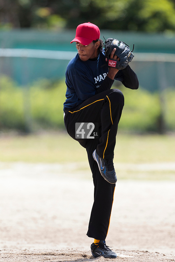 08 May 2010: David Van Heyningen is seen during a tryout for Team France, in St Maarten, Netherlands Antilles.
