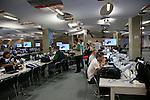 Press Center, <br /> JUNE 12, 2014 - Football /Soccer : <br /> 2014 FIFA World Cup Brazil <br /> at Arena de Sao Paulo, Sao Paulo, Brazil. <br /> (Photo by YUTAKA/AFLO SPORT) [1040]