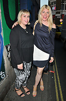 guest and Meredith Ostrom at the HENI Gallery x Adidas &quot;Prouder&quot; project private view &amp; party, HENI Gallery, Lexington Street, London, England, UK, on Tuesday 03 July 2018.<br /> CAP/CAN<br /> &copy;CAN/Capital Pictures