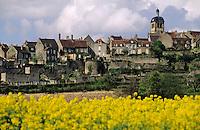 Europe/France/89/Yonne/Vézelay: Vue Générale et cathédrale