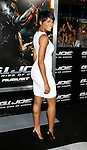 "HOLLYWOOD, CA. - August 06: Ciara  arrives at a special screening of ""G.I. Joe: The Rise Of The Cobra"" on August 6, 2009 in Hollywood, California."