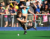 NZ's Andy Hayward during the international hockey match between the New Zealand Black Sticks and Malaysia at Fitzherbert Park, Palmerston North, New Zealand on Sunday, 9 August 2009. Photo: Dave Lintott / lintottphoto.co.nz