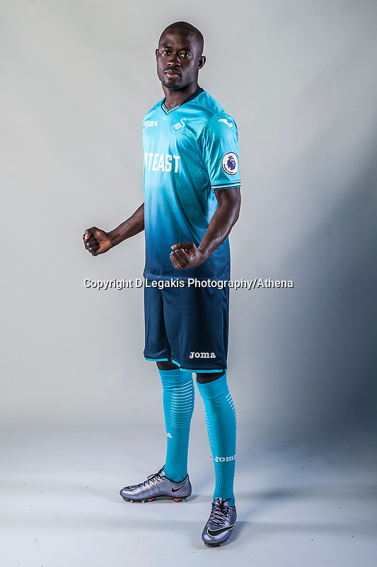 Friday  15 July 2016<br />Pictured: Modou Barrow of Swansea City <br />Re: Swansea City FC  Joma Kit photographs for the 2016-2017 season