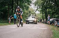 Rafał Majka (POL/BORA-hansgrohe)<br /> <br /> Stage 20 (ITT): Saint-P&eacute;e-sur-Nivelle &gt;  Espelette (31km)<br /> <br /> 105th Tour de France 2018<br /> &copy;kramon