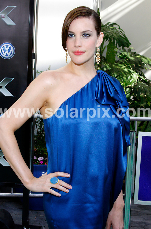 "**ALL ROUND PICTURES FROM SOLARPIX.COM**.**SYNDICATION RIGHTS FOR UK, SPAIN, PORTUGAL, AUSTRALIA, S.AFRICA & DUBAI (U.A.E) ONLY**.Liv Tyler attends the Los Angeles premiere of ""The Incredible Hulk"" at Universal Citywalk Universal Studios - Universal City, CA, USA.JOB REF:  6595   PHZ / David Gabber  DATE:  08.06.08.**MUST CREDIT SOLARPIX.COM OR DOUBLE FEE WILL BE CHARGED* *UNDER NO CIRCUMSTANCES IS THIS IMAGE TO BE REPRODUCED FOR ANY ONLINE EDITION WITHOUT PRIOR PERMISSION*"