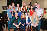 Gleeson Clan Gathering : Members of the Gleeson families from Listowel who had a family get together at the Kingdom Bar, Listowel on Saturday night last.
